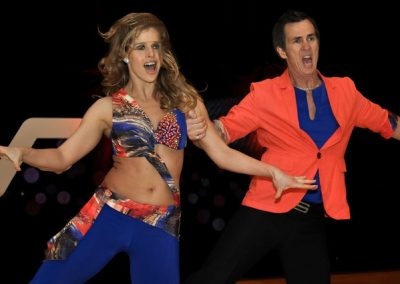 Shane&Keri USOpen Dancing