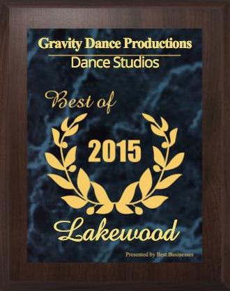 Top Dance Studio award