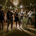 Flashmob wedding dance