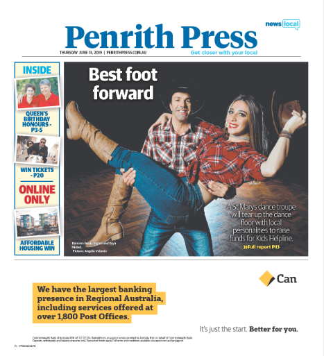 Dancing for a good cause by Daniel Stringer Penrith Press