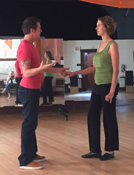 Private dance lessons west coast swing Sydney